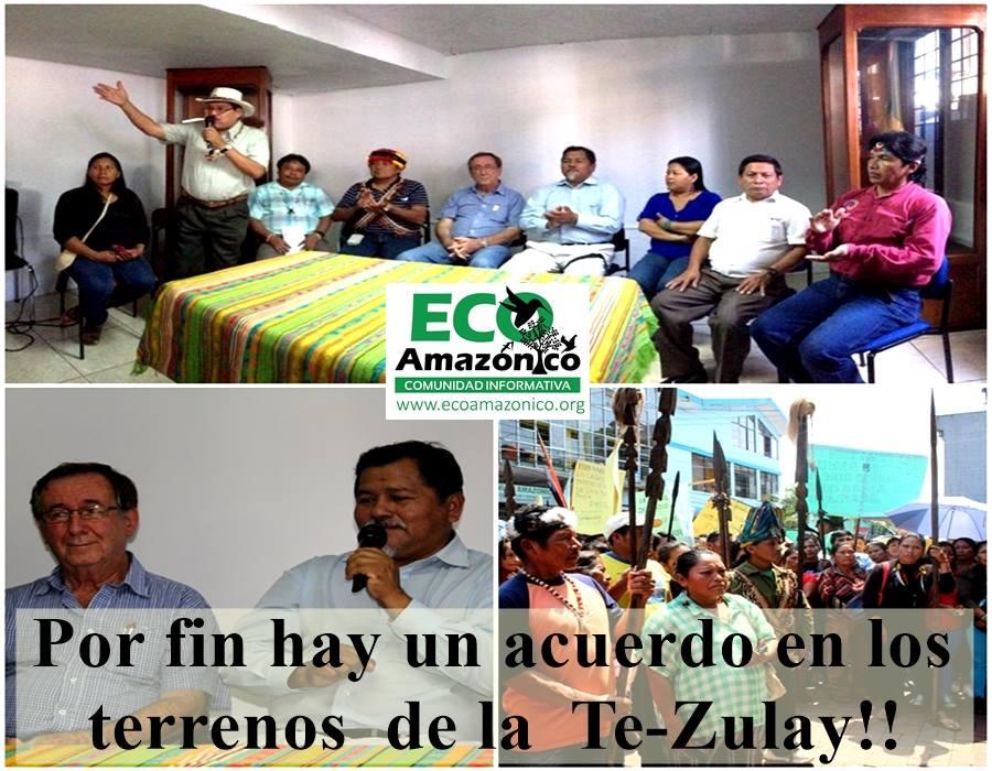 Termina el conflicto en el Te-Zulay con los indígenas de las nacionalidades