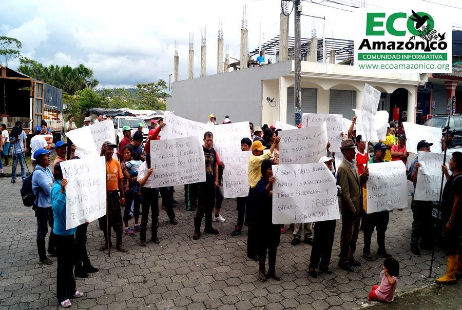 Justicia y legalización de tierras de hacienda Té Zulay piden ex trabajadores