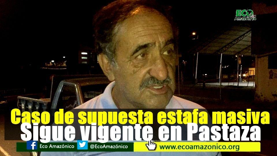 Constantes reuniones mantienen las victimas de supuesta estafa masiva en Pastaza
