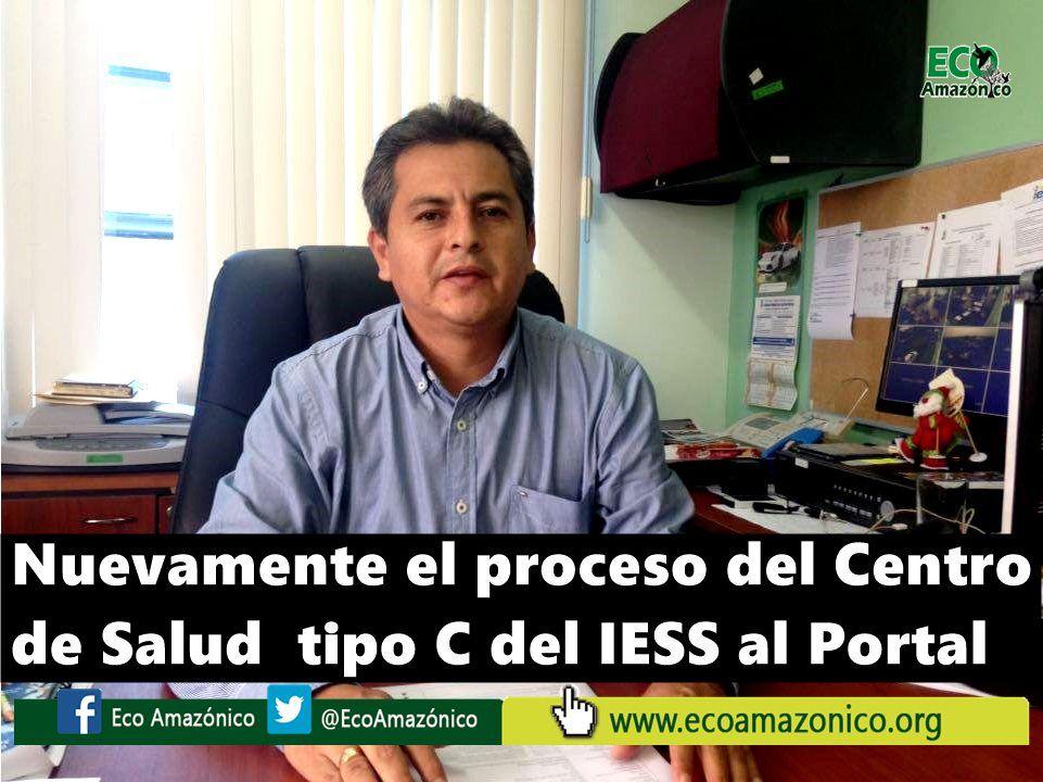 Nuevamente se subió el proceso del Centro de Salud Tipo C del IESS al portal