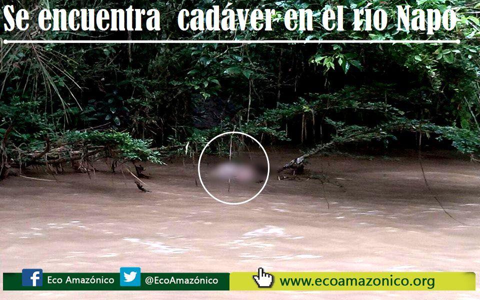 Se encuentra posiblemente a la persona que desapareció en Misahuallí en la isla Sán Rafael