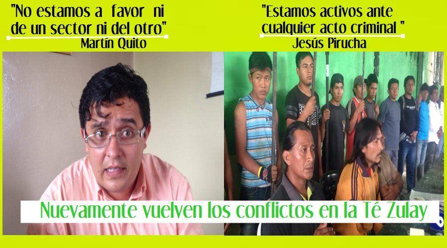 Posesionaros de la Té Zulay denuncian actos criminales /Gobernador replíca esta información