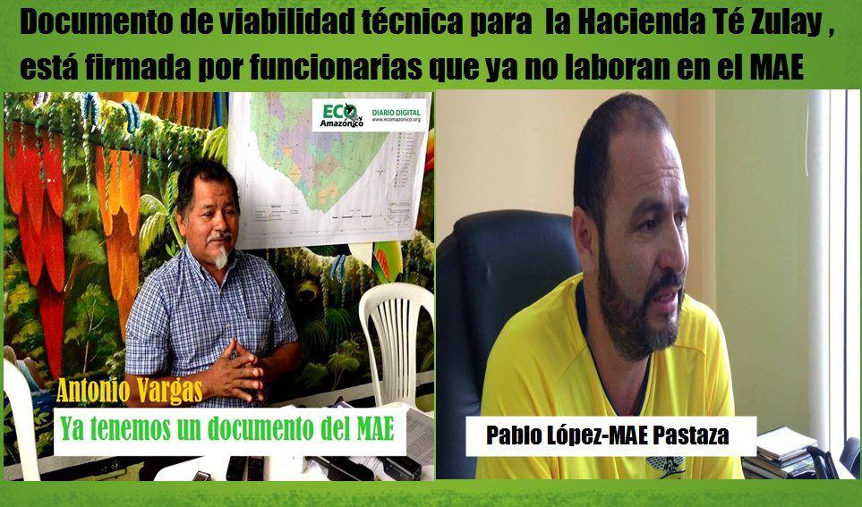"""Documento del MAE que viabiliza estudios para """"Ciudad de las 7 nacionalidades"""" supuestamente no es legal"""