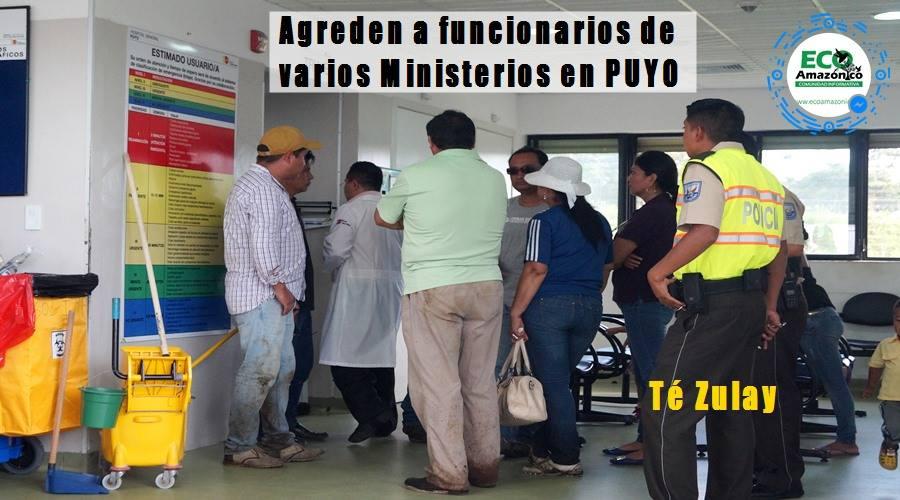 Agreden en Té Zulay a personas de varios Ministerios