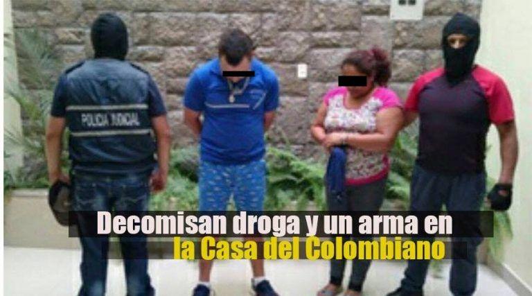 Policía Recupera Una Arma Y Decomisa Droga En Puyo