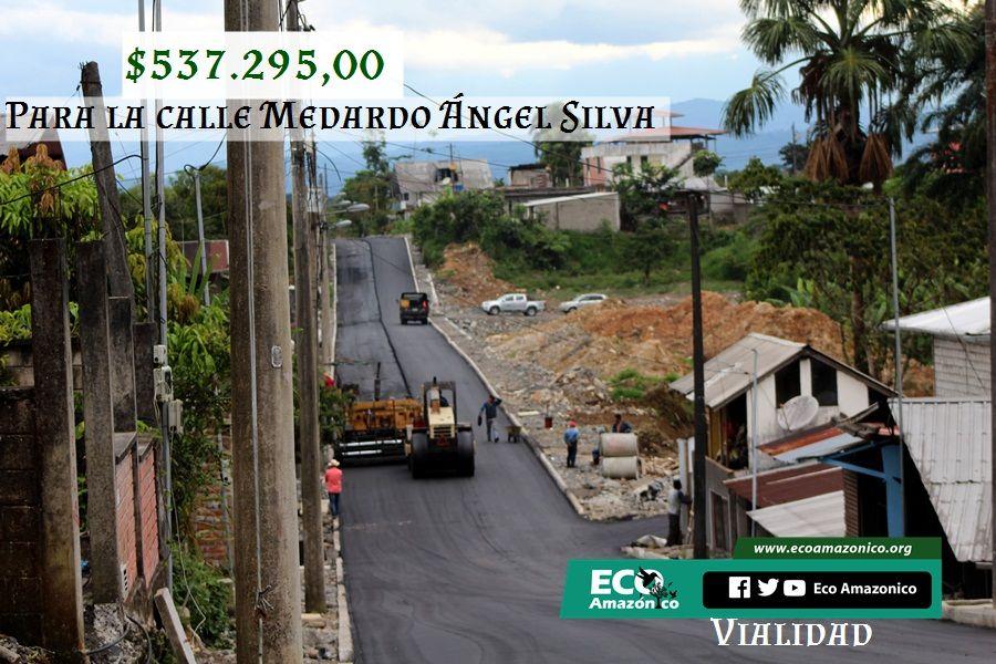 $537.295,00 dólares para la calle Medardo Ángel Silva