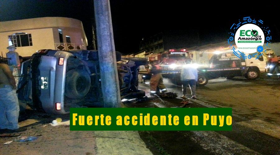 Accidente en Puyo