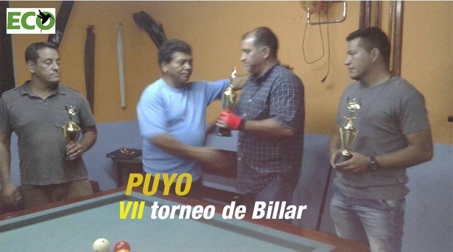 VII torneo de Billar