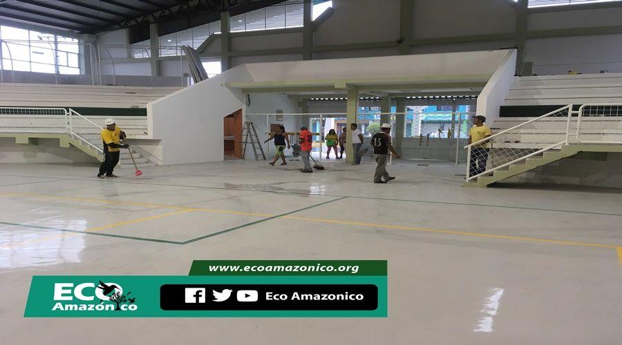 GAD de Mera remodeló el Coliseo de Shell con un monto de $ 150.000 || Eco-Amazónico 2016