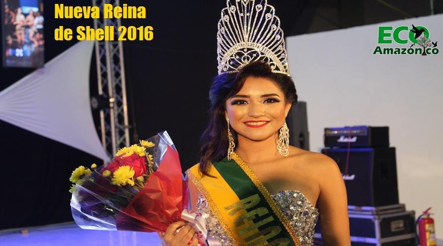 Nueva reina de Shell 2016
