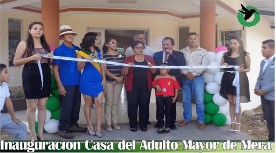 Se inauguró la Casa del Adulto Mayor en Mera