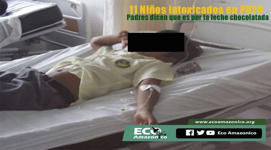11 menores intoxicados llegan al Hospital Puyo