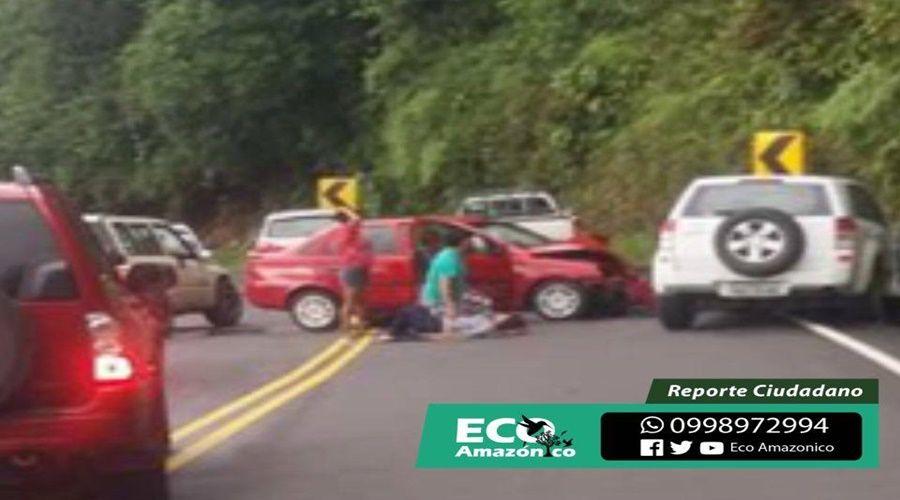 Accidente de tránsito en la Moravia