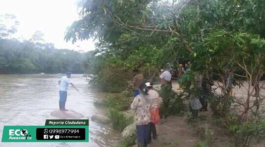 Comienza operativo de búsqueda del cuerpo en Boayacu