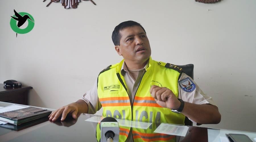 Comandante de Policía sobre el caso de la Elvis Guaman