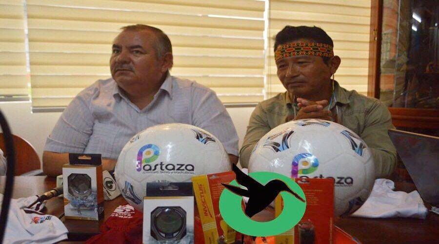 Prefectura de Pastaza entrega indumentaria a Sarayaku