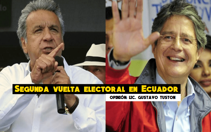 Segunda vuelta electotoral en Ecuador