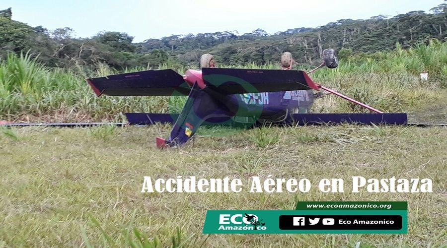 Accidente aéreo en Pastaza