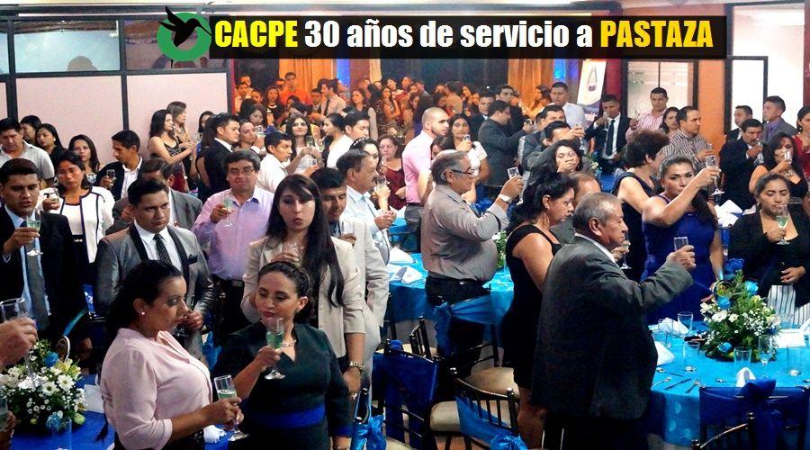 CACPE 30 AÑOS EN PASTAZA