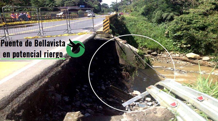 Puente de Bellavista en Riesgo