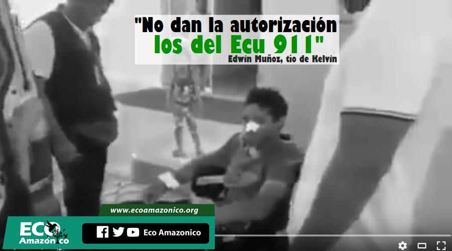 Se denuncia falta de asistencia de ambulancia de ECU-911 en Sucumbíos