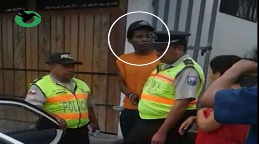 Atrapan a delincuente en le Barrio el Recreo