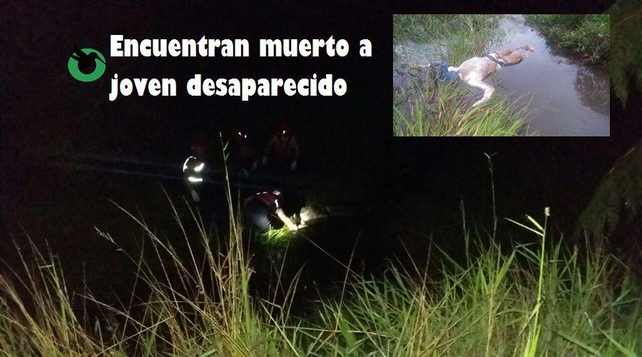 Joven desaparecido es hallado muerto en riachuelo de Puyo