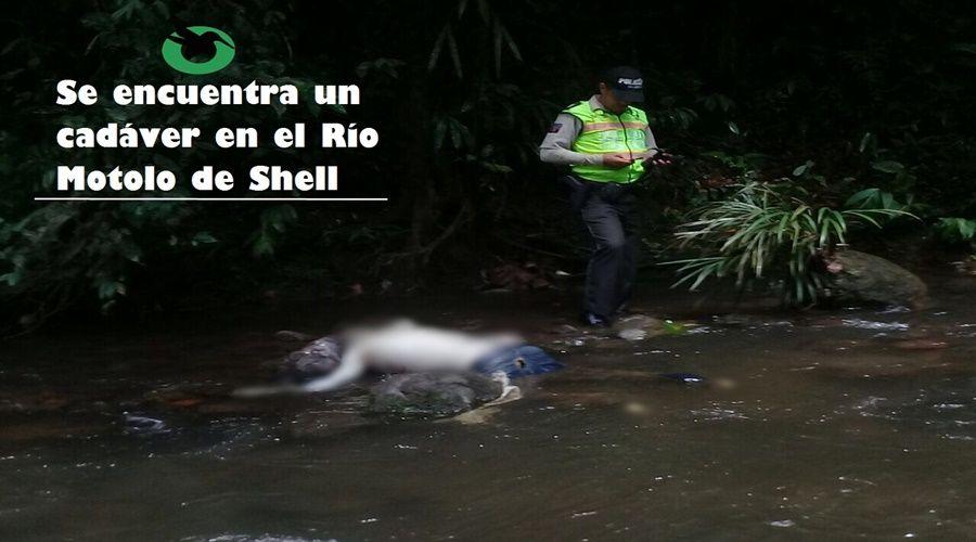 Cadáver es encontrado en río de Shell