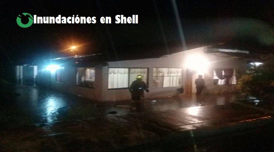 Inundaciones en Shell