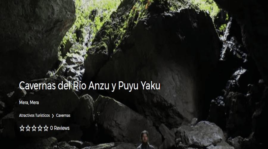 Cavernas del Río Anzu y Puyu Yaku