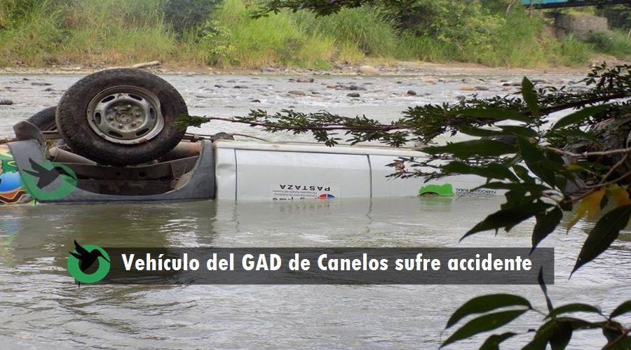 Accidente de tránsito en Canelos