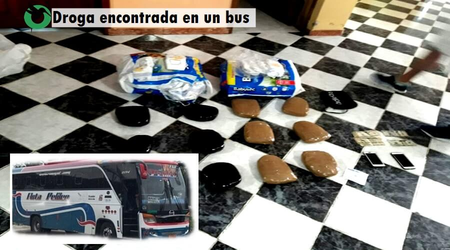 D12 kilos de droga decomisas en Pastaza