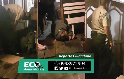 Ladrón es detenido y golpeado por un ciudadano