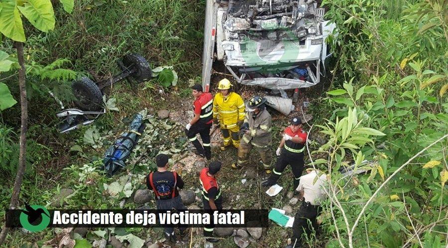 Accidente en Santa Clara deja una persona fallecida