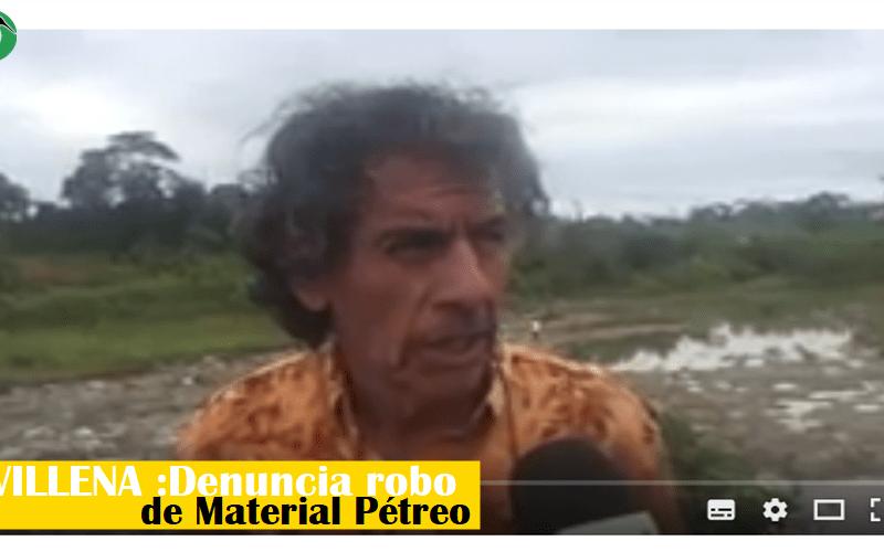 Denuncia robo de material pétreo del Municipio de Puyo
