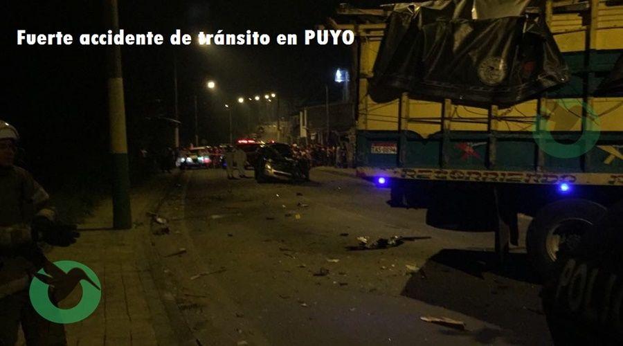 Un fallecido deja accidente en la calle 4 de Enero