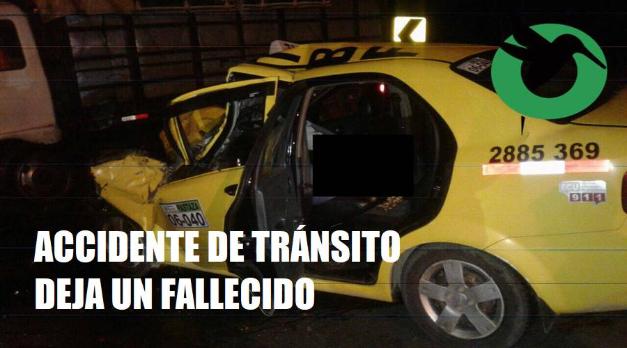 Un muerto en accidente en Puyo