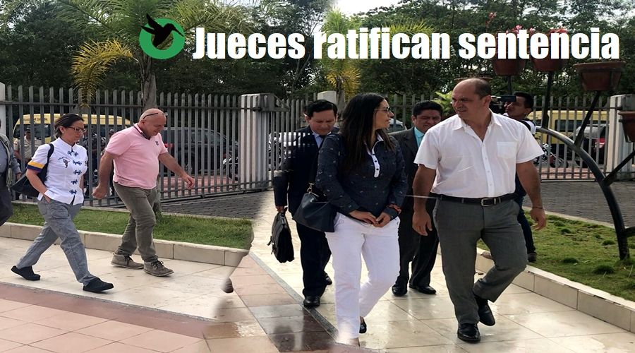 Se ratifica sentencia a German Ledesma