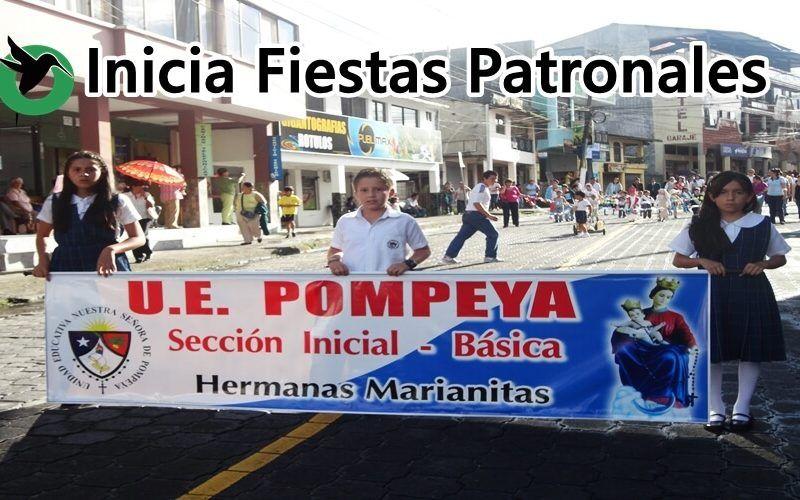La U.E. Pompeya celebra sus fiestas patronales.