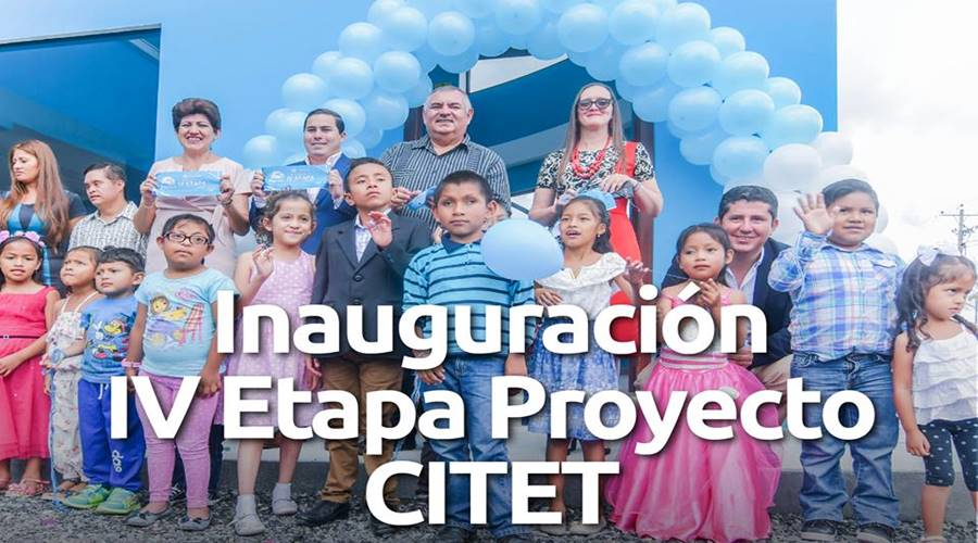 Se inauguró la cuarta etapa del CITET