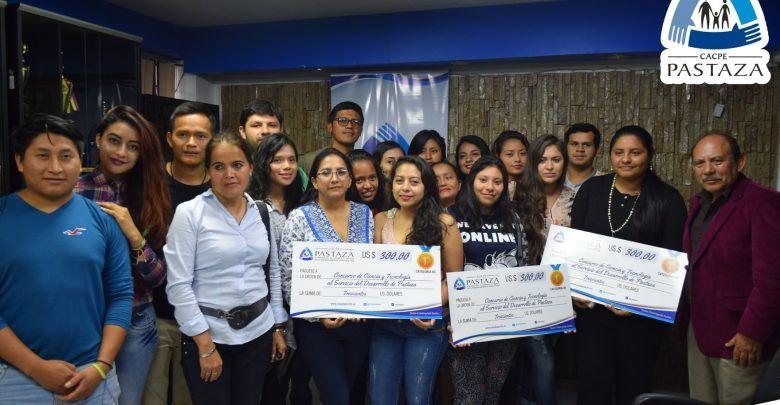 CACPE premia a jóvenes emprendedores