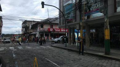 Centro de Puyo sin luz