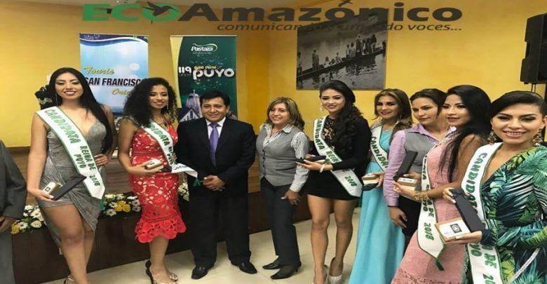 Touris San Francisco entrego la corona para Reina de Puyo 2018