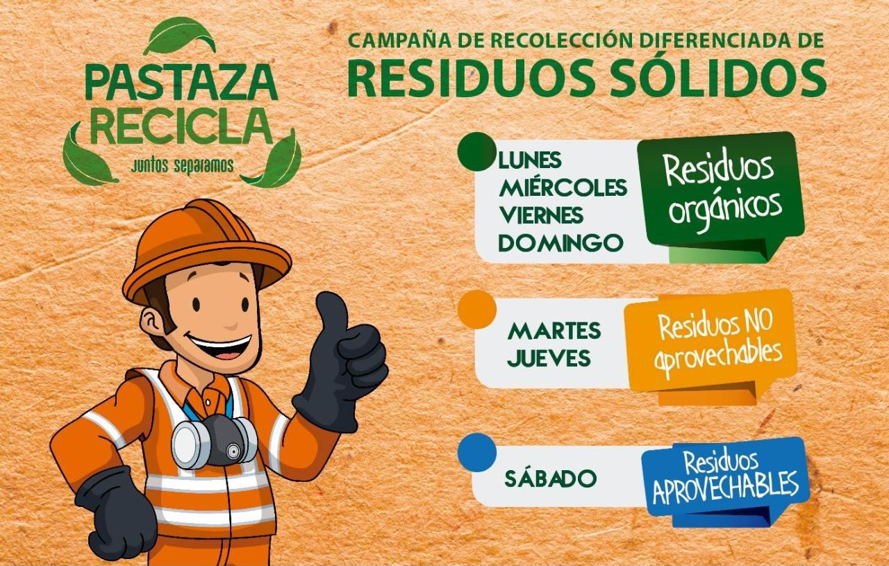 Pastaza  recicla