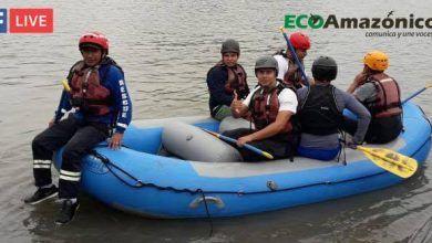 Dialogo con los Bomberos de la Shell sobre el rescate en los ríos