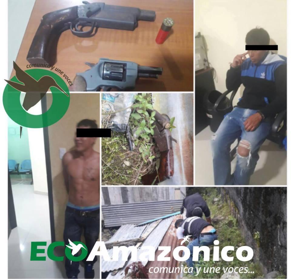 ARMAS DE FUEGO EN PUYO