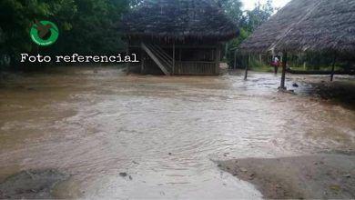 20 personas rescatadas de inundación en el río Anzu