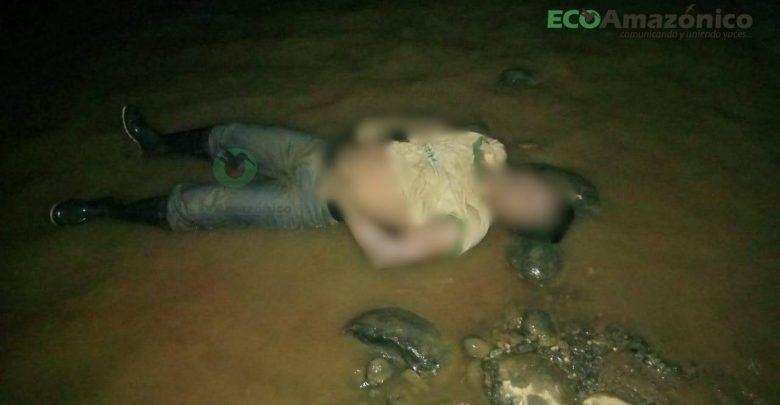 Se encontró un cadáver a las orillas del río Bobonaza