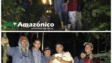 5 Personas perdidas rescatadas en Mera