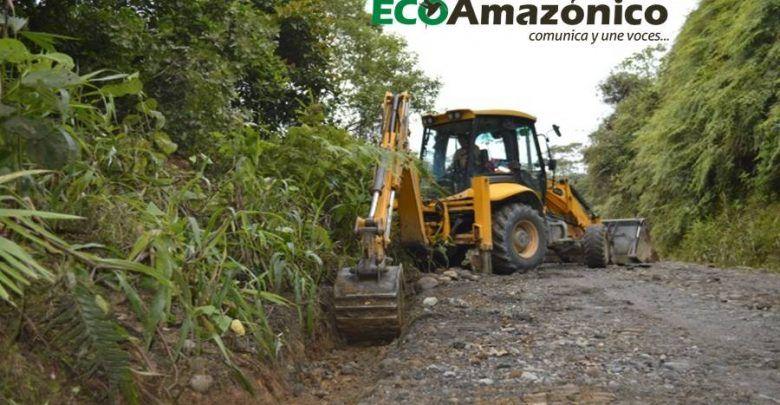36 Km de vía construida en Copataza